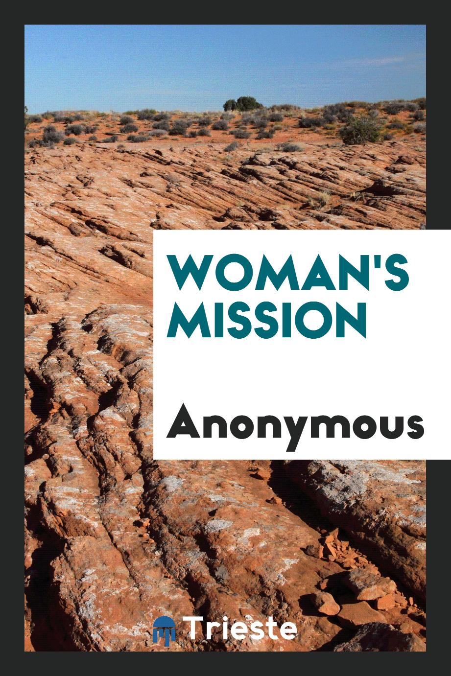 Woman's Mission