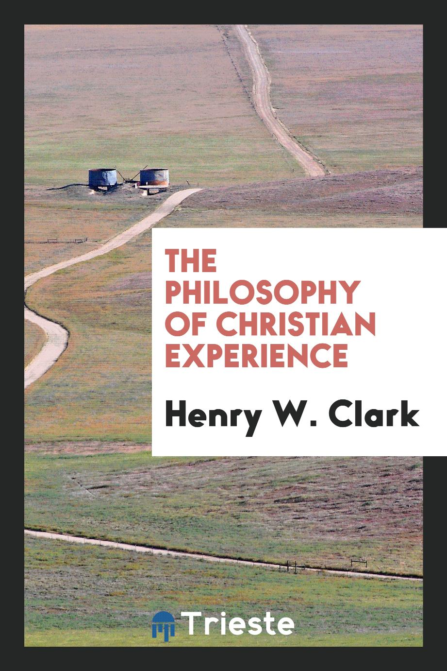 The philosophy of Christian experience