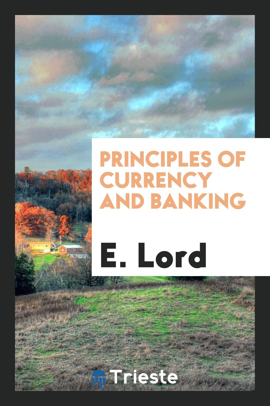 Principles of Currency and Banking