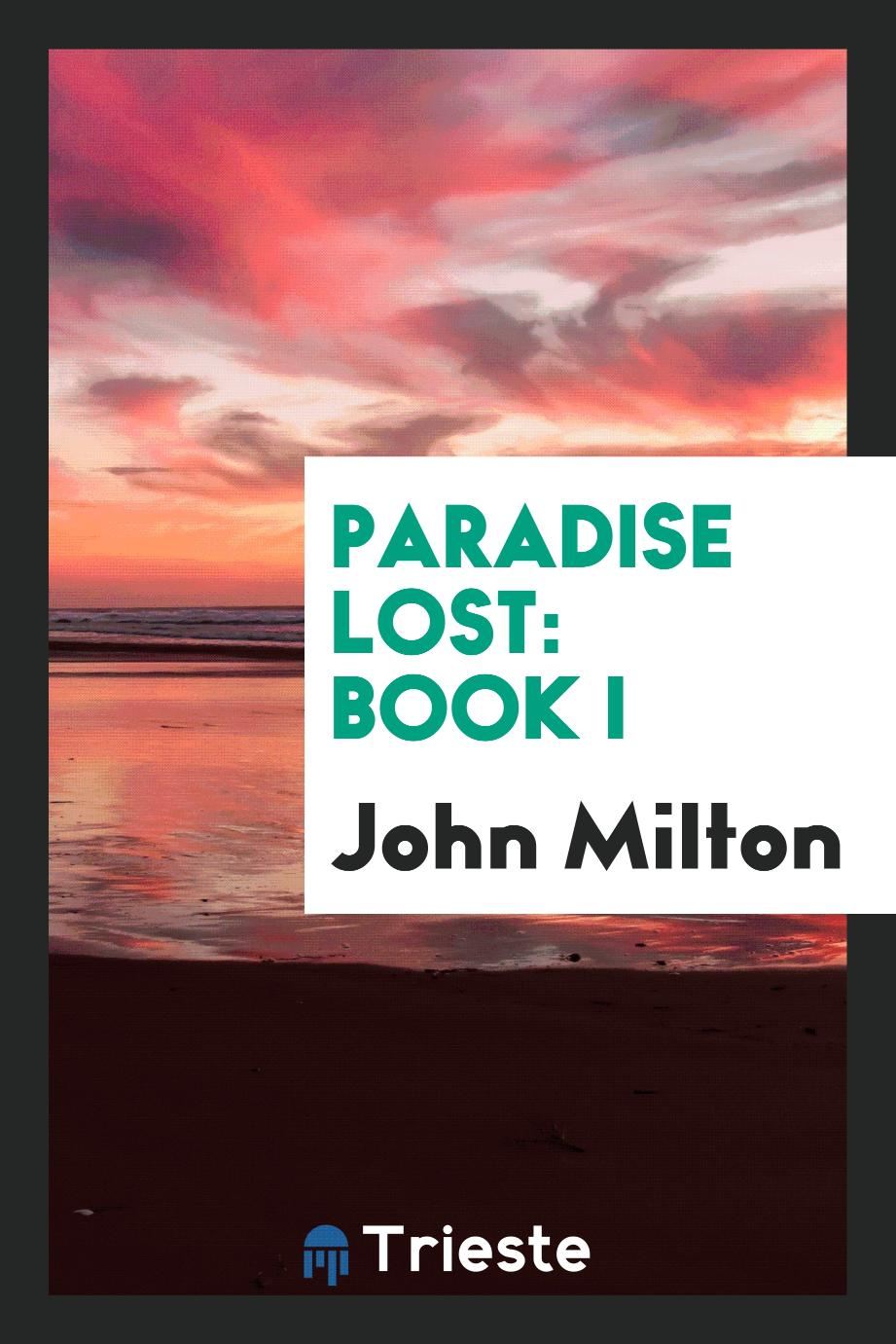 Paradise Lost: Book I