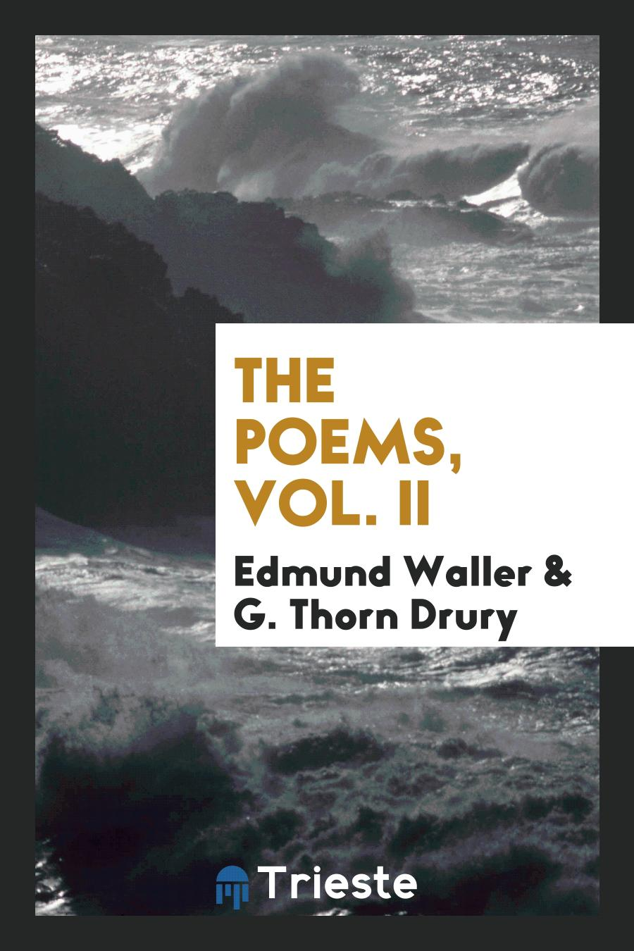 The Poems, Vol. II