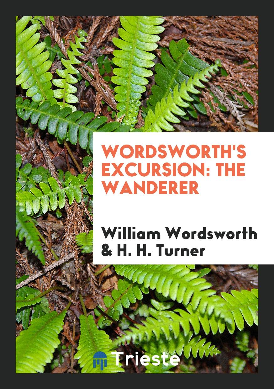 Wordsworth's Excursion: The wanderer
