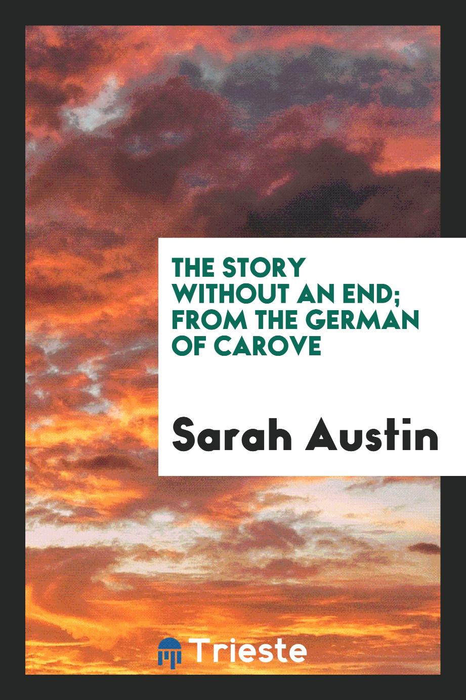 The story without an end; from the German of Carove