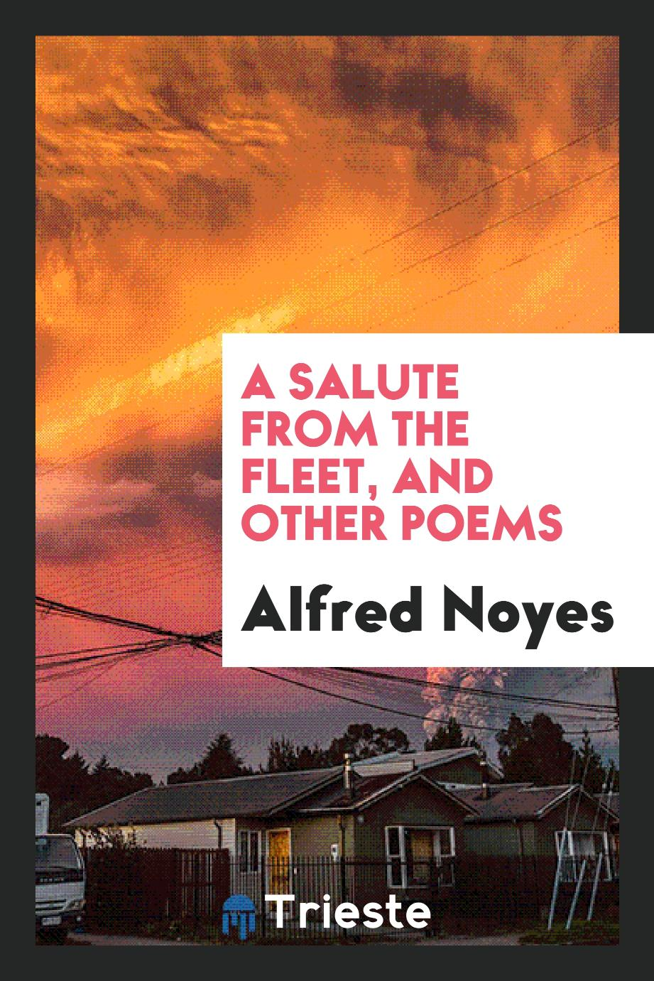 A salute from the fleet, and other poems