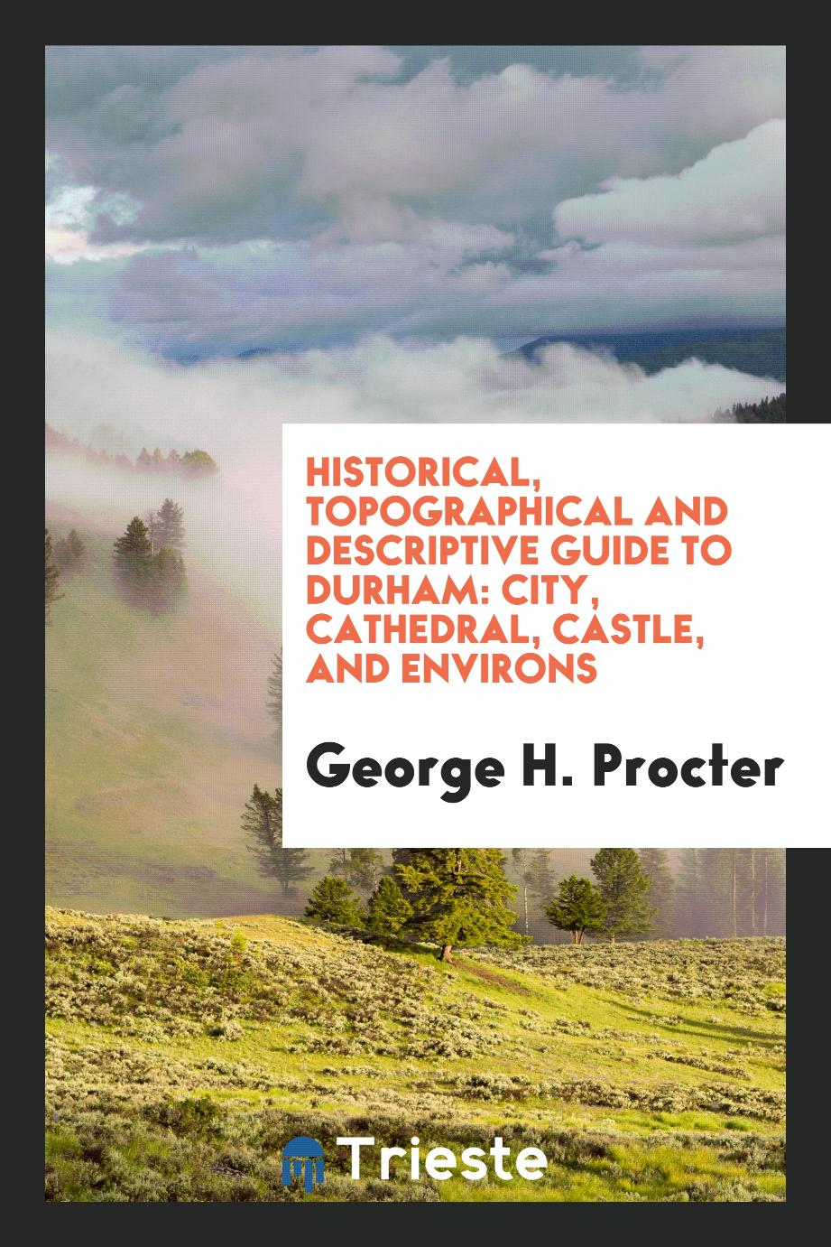 Historical, Topographical and Descriptive Guide to Durham: City, Cathedral, Castle, and Environs