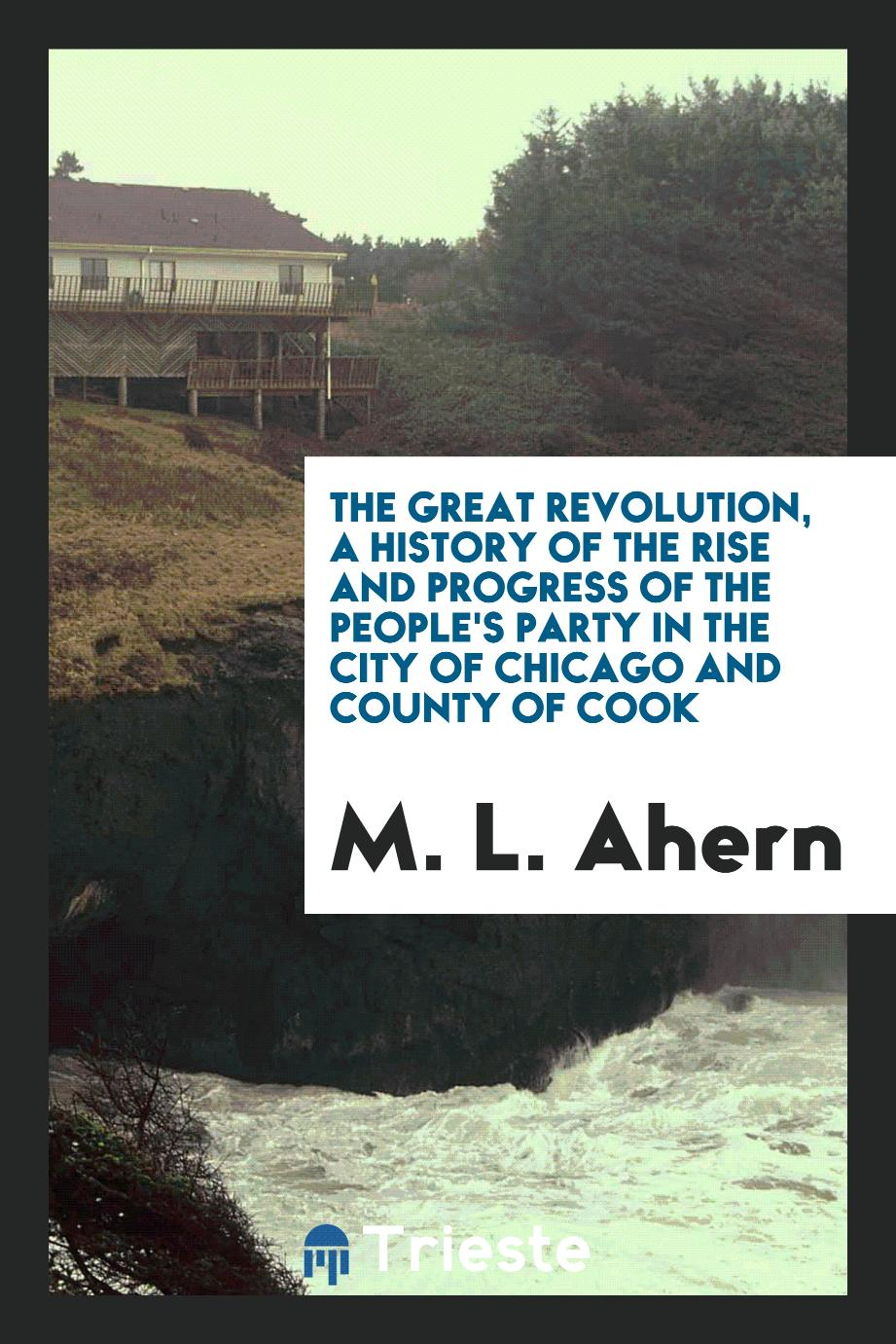 The great revolution, a history of the rise and progress of the People's Party in the city of Chicago and county of Cook