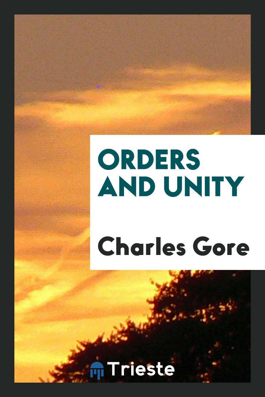Orders and unity