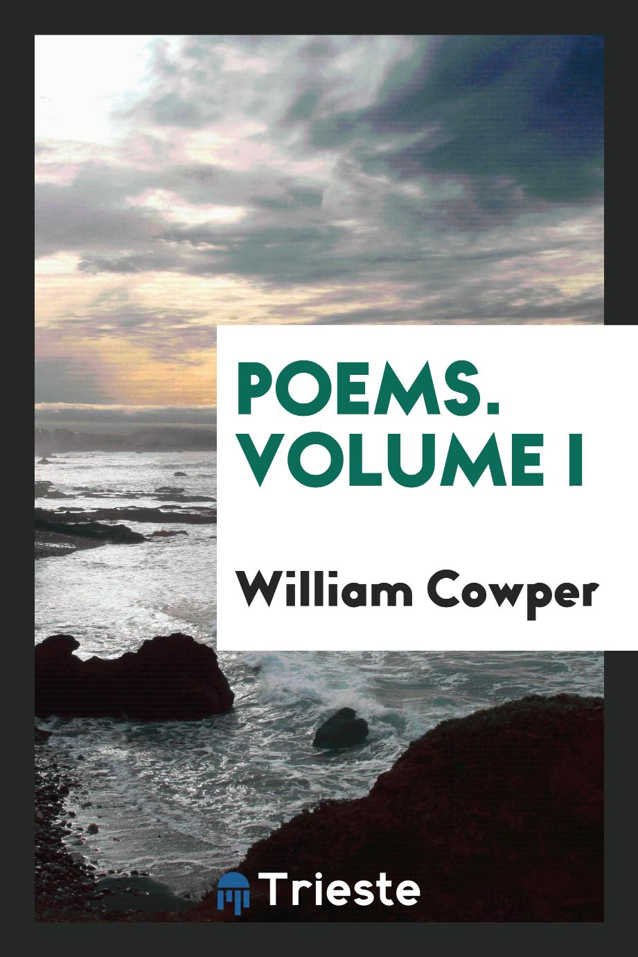 Poems. Volume I