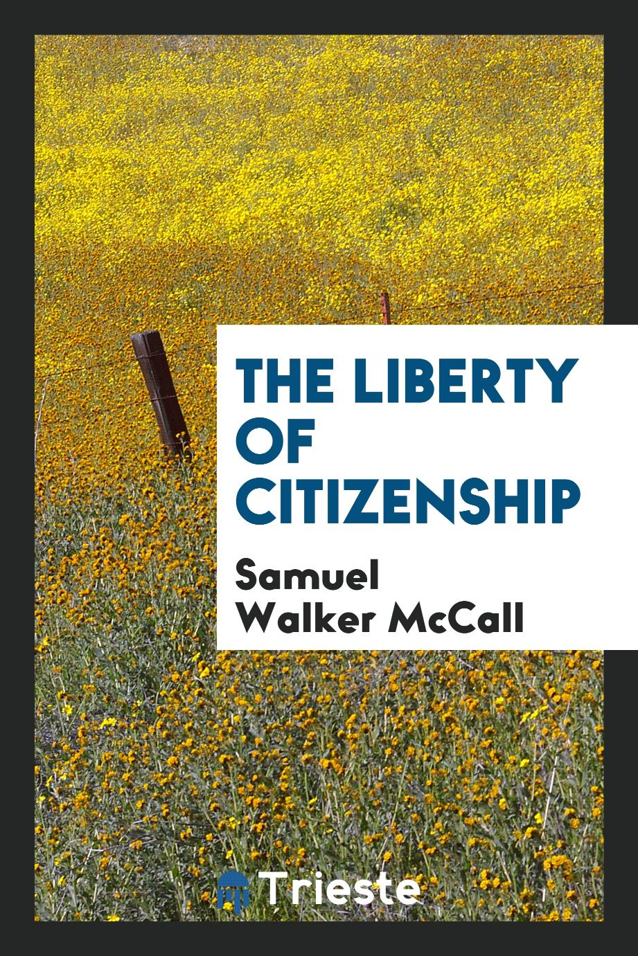 The Liberty of Citizenship