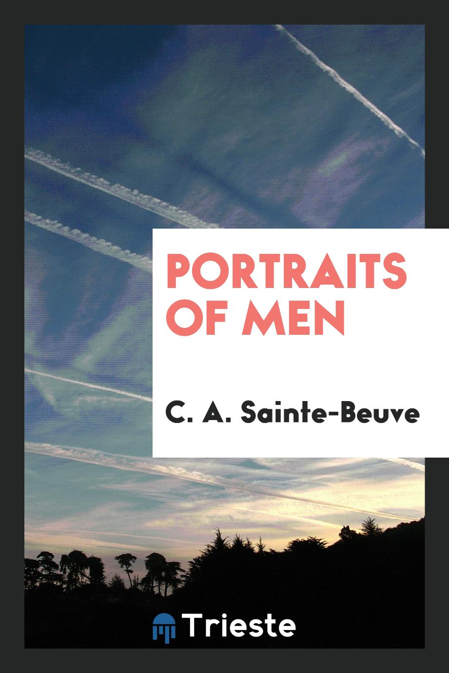 Portraits of men