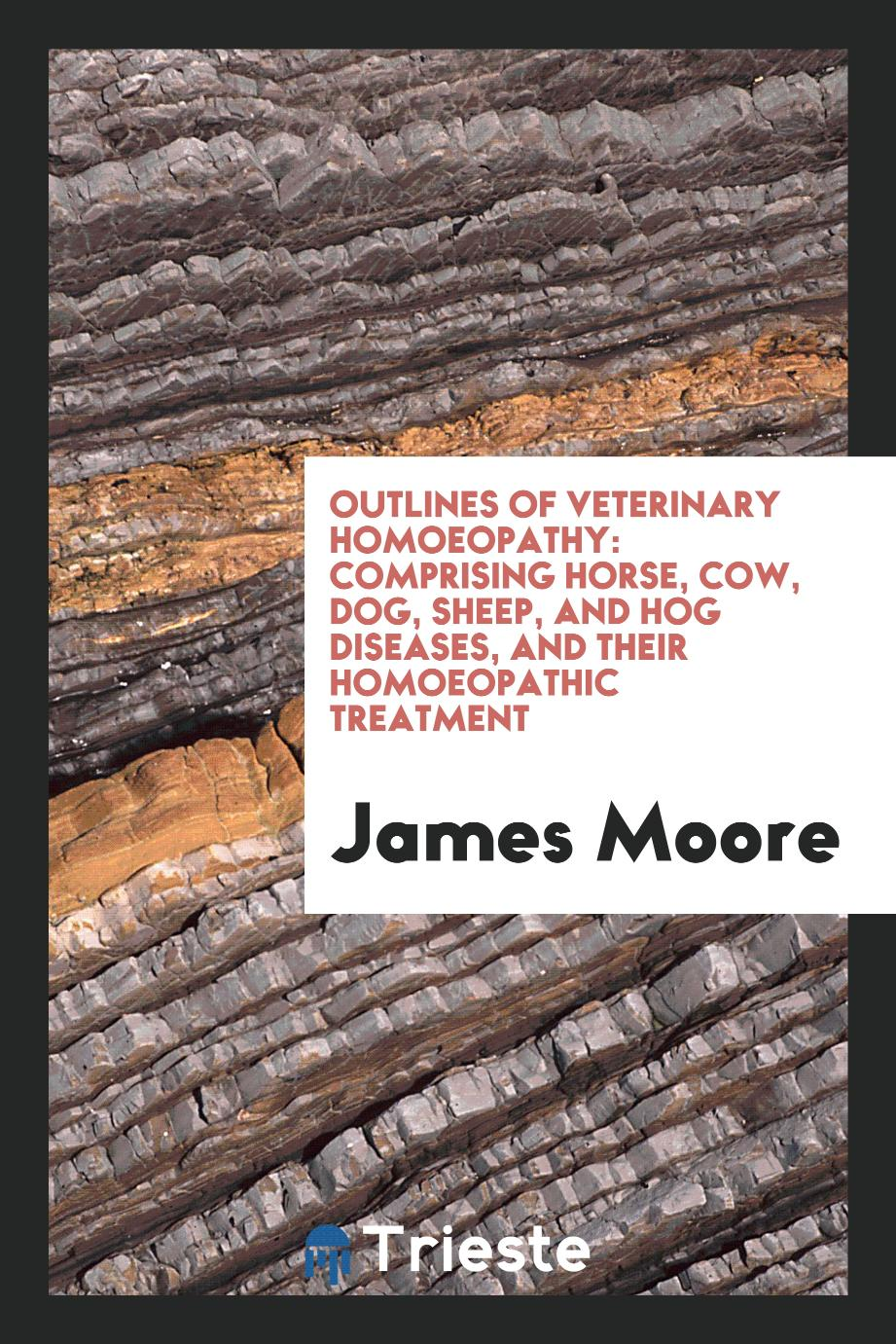 Outlines of Veterinary Homoeopathy: Comprising Horse, Cow, Dog, Sheep, and Hog Diseases, and Their Homoeopathic Treatment