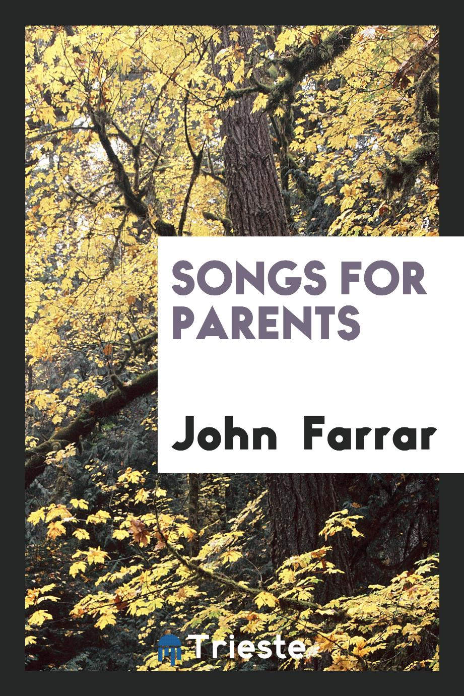 Songs for Parents
