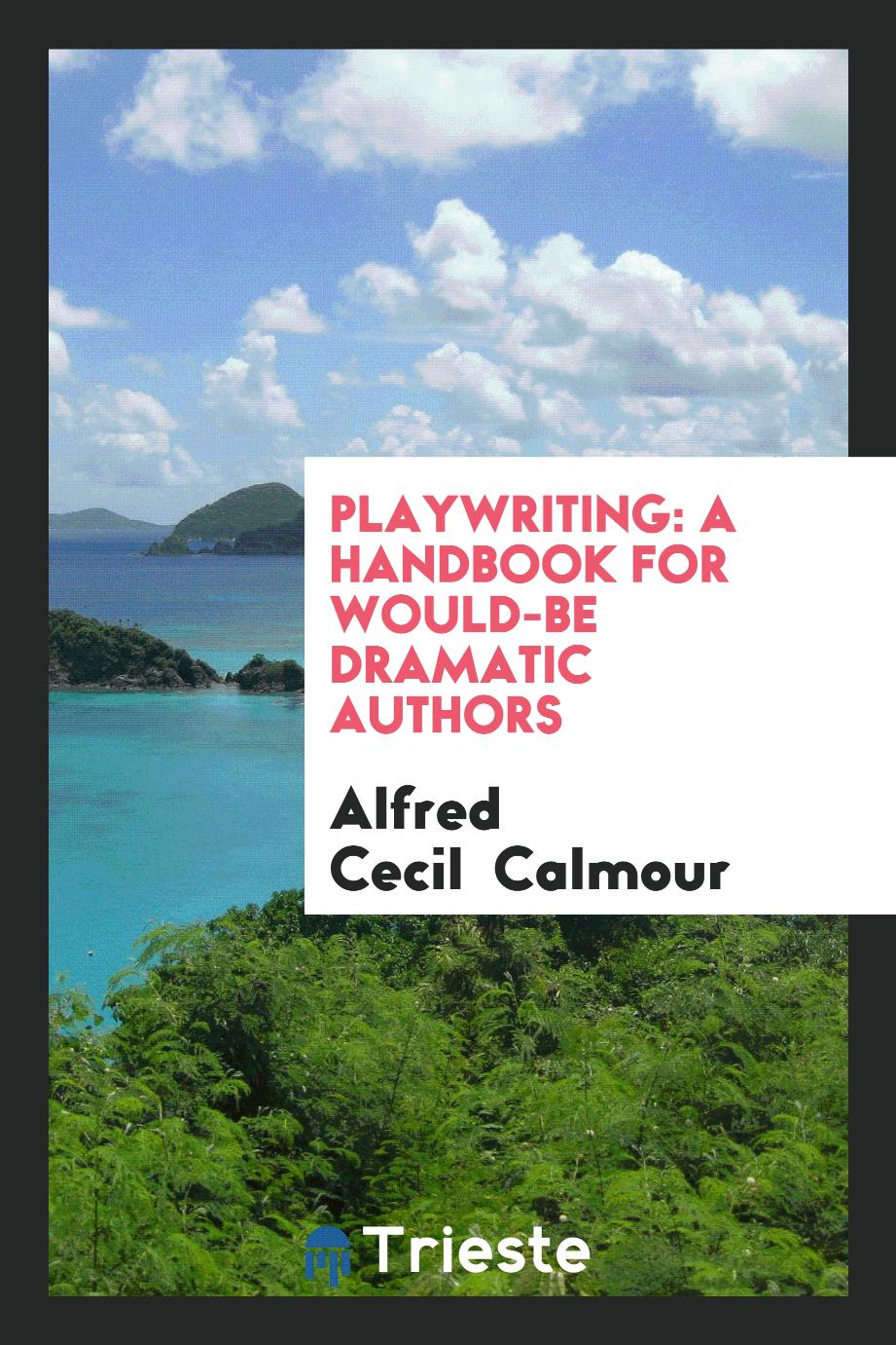 Playwriting: A Handbook for Would-Be Dramatic Authors