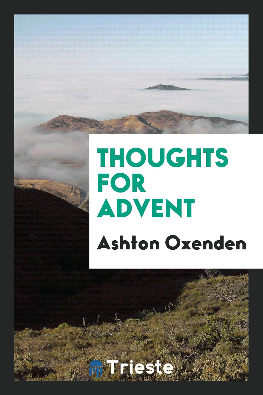 Thoughts for Advent