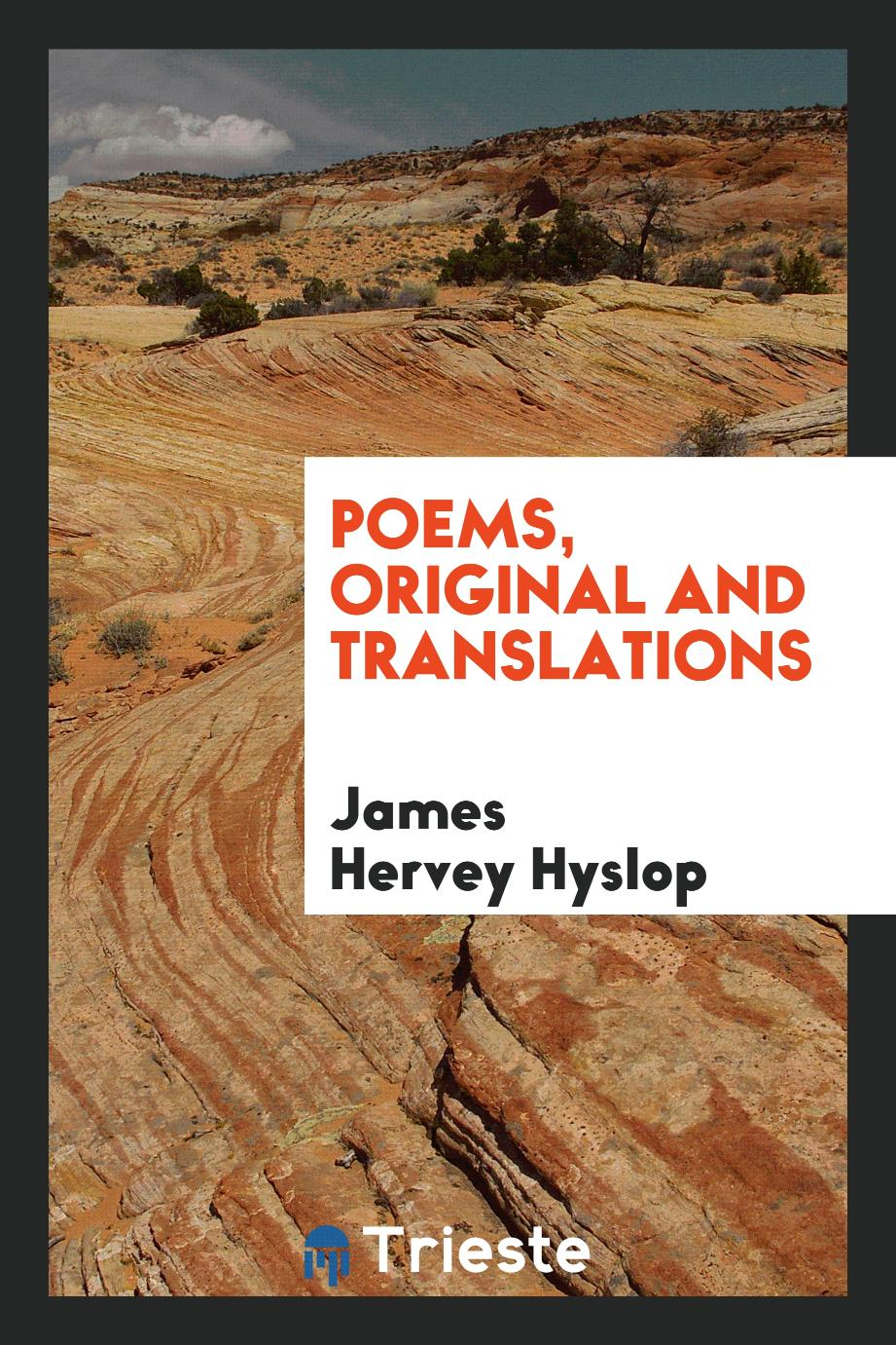Poems, original and translations