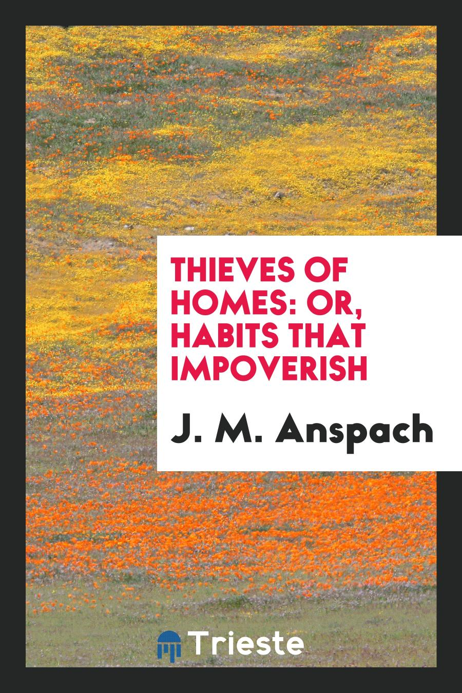 Thieves of Homes: Or, Habits That Impoverish