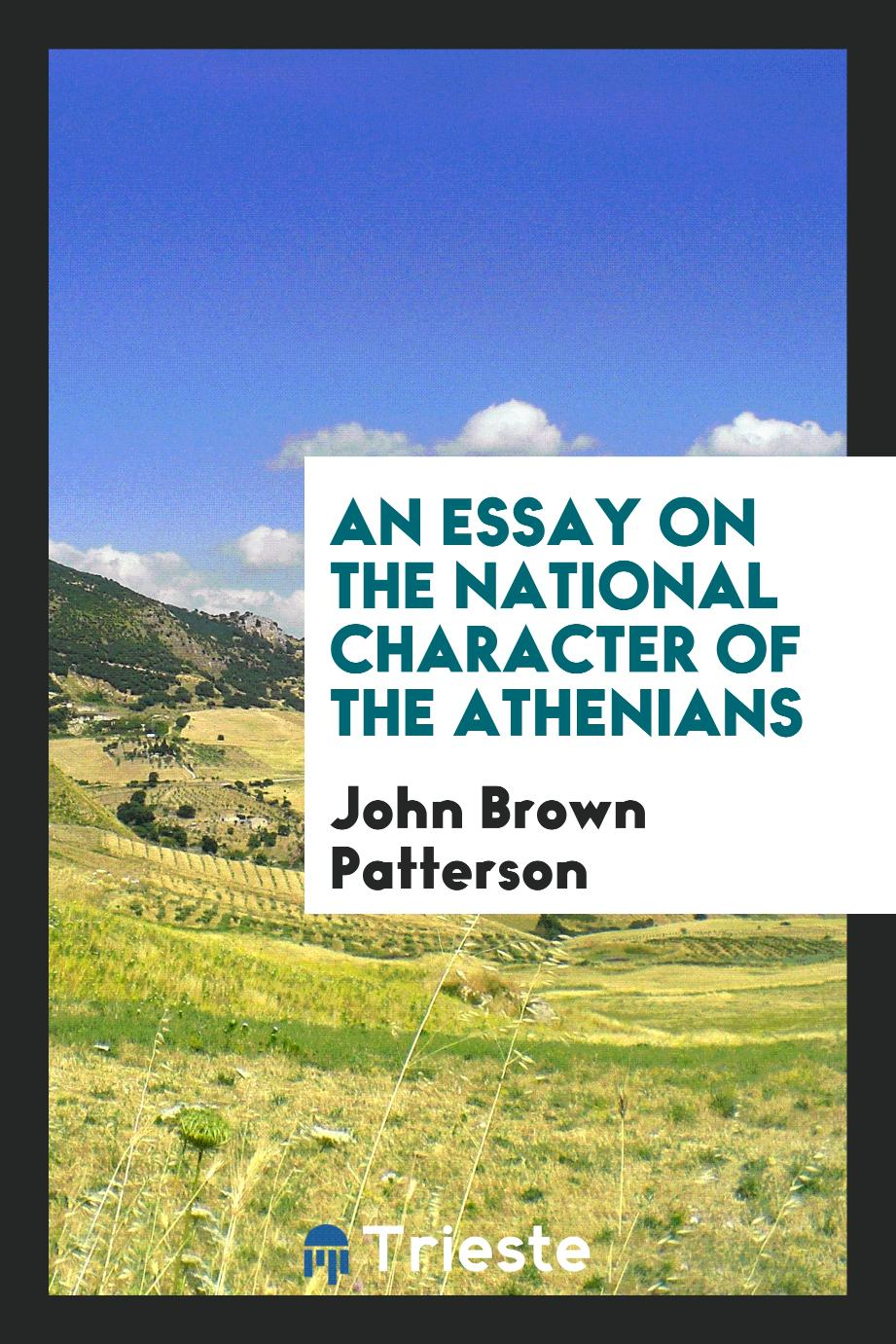 An Essay on the National Character of the Athenians