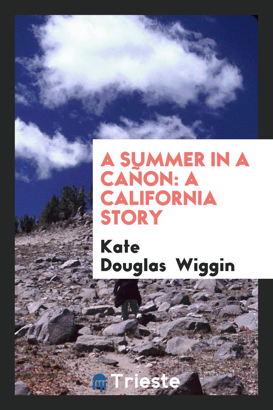 A summer in a cañon: a California story