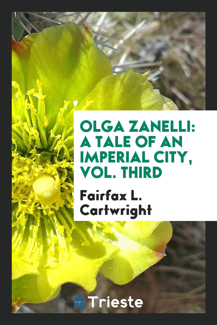Olga Zanelli: a tale of an imperial city, Vol. third