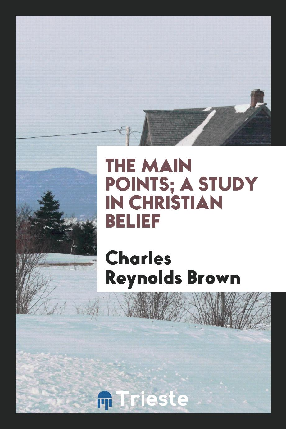 The main points; a study in Christian belief