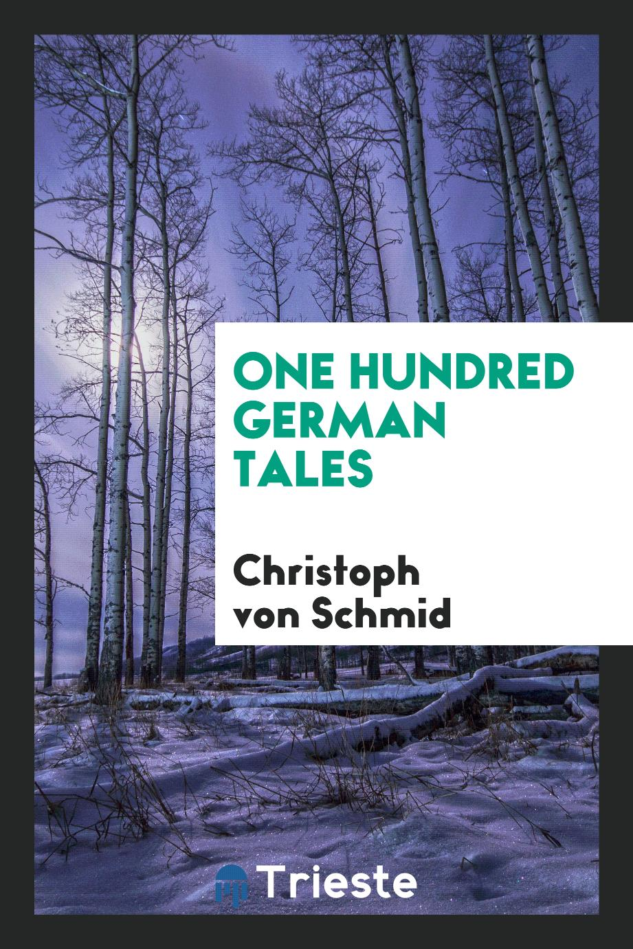 One hundred German tales