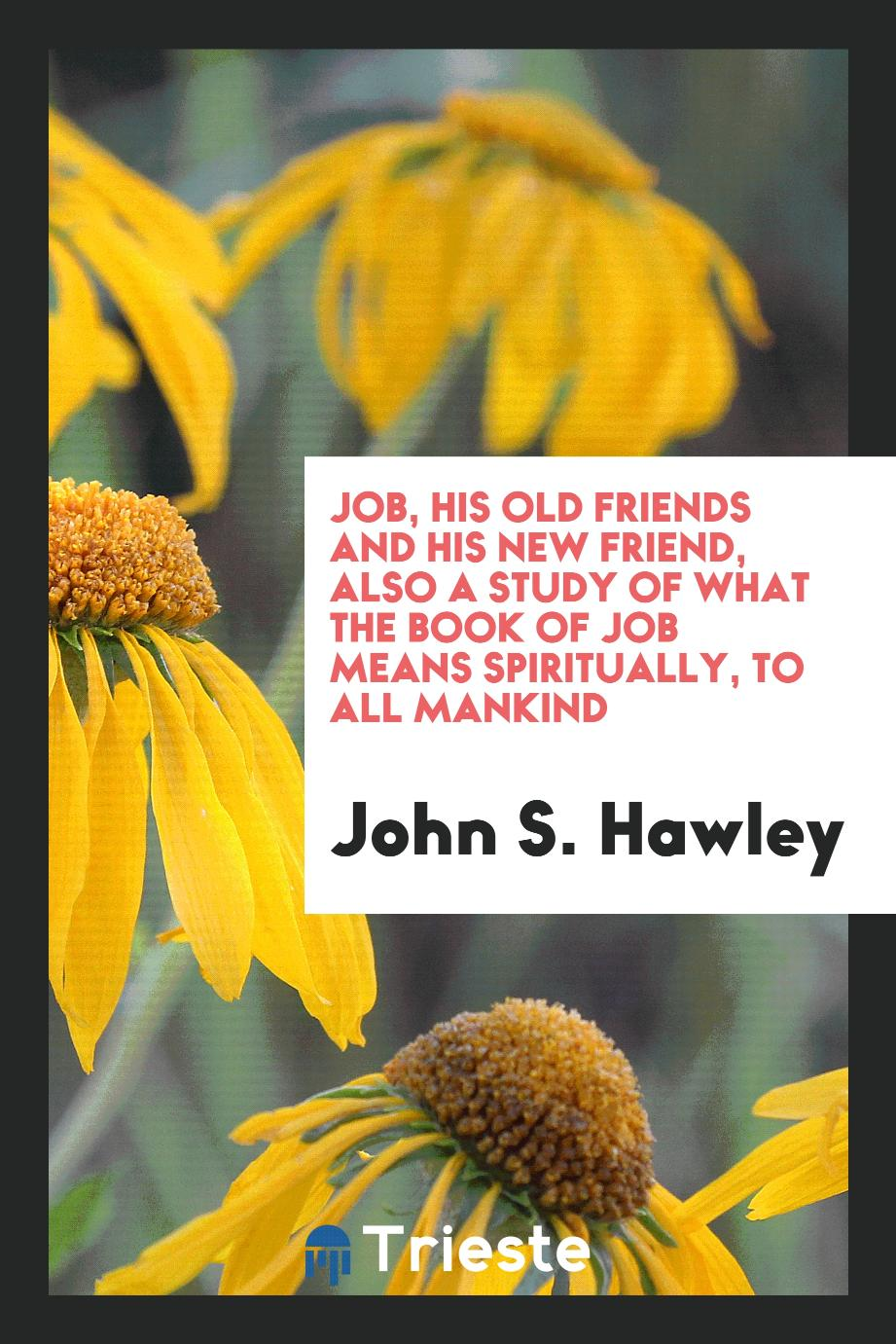 Job, His Old Friends and His New Friend, Also a Study of What the Book of Job Means Spiritually, to All Mankind