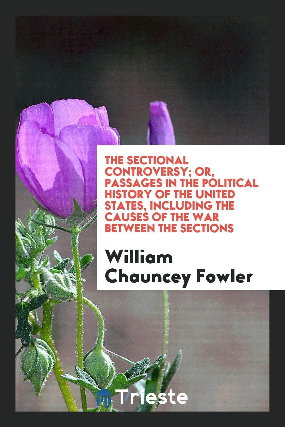 The Sectional Controversy; Or, Passages in the Political History of the United States, Including the Causes of the War Between the Sections