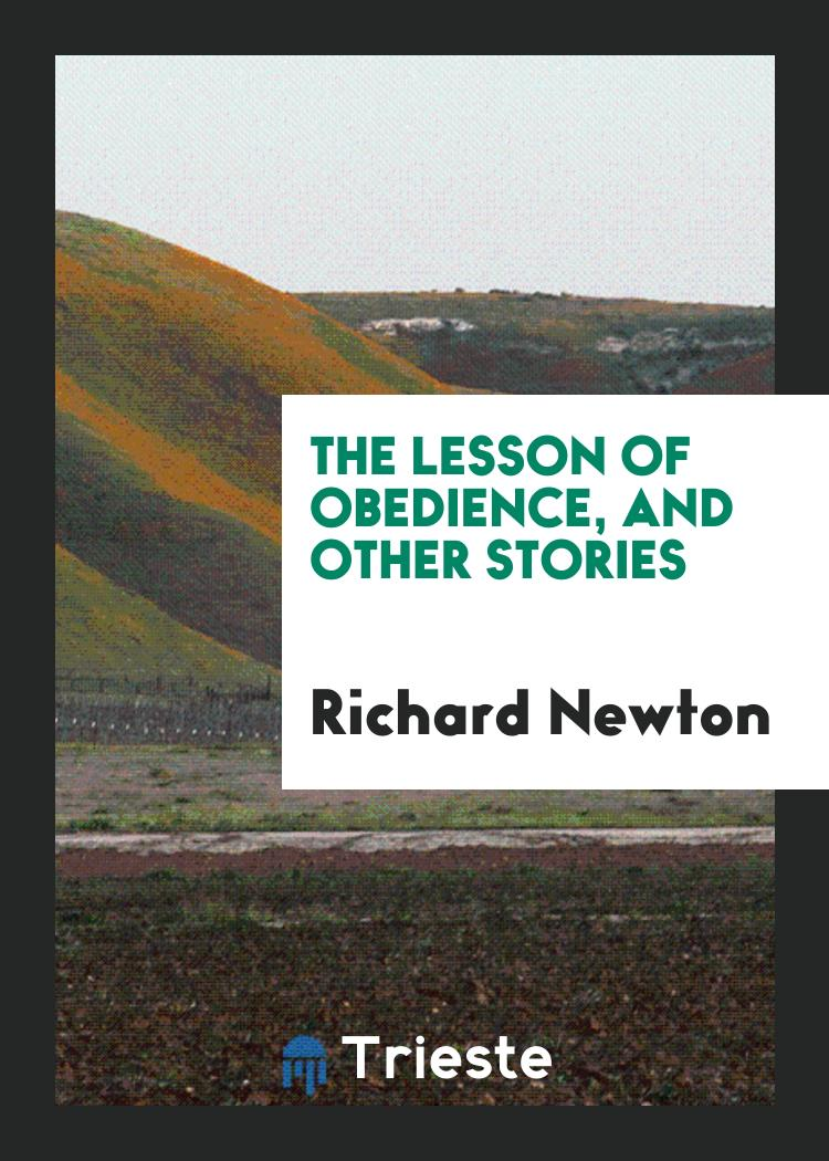 The lesson of obedience, and other stories