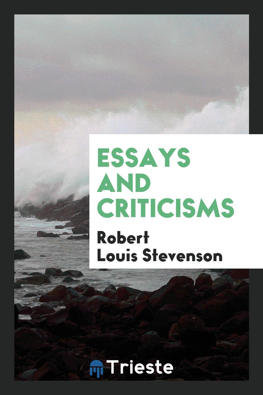 Essays and Criticisms