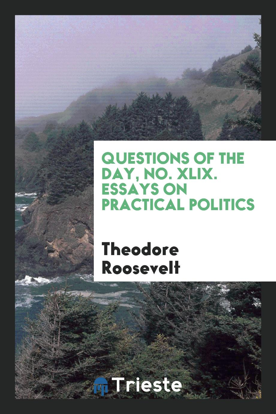 Questions of the day, No. XLIX. Essays on Practical Politics