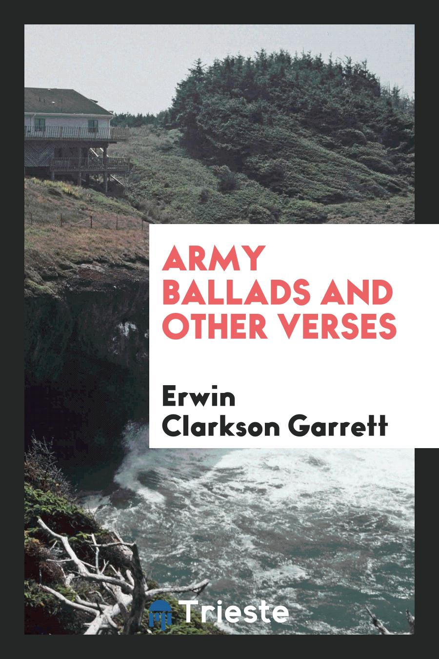 Army Ballads and Other Verses