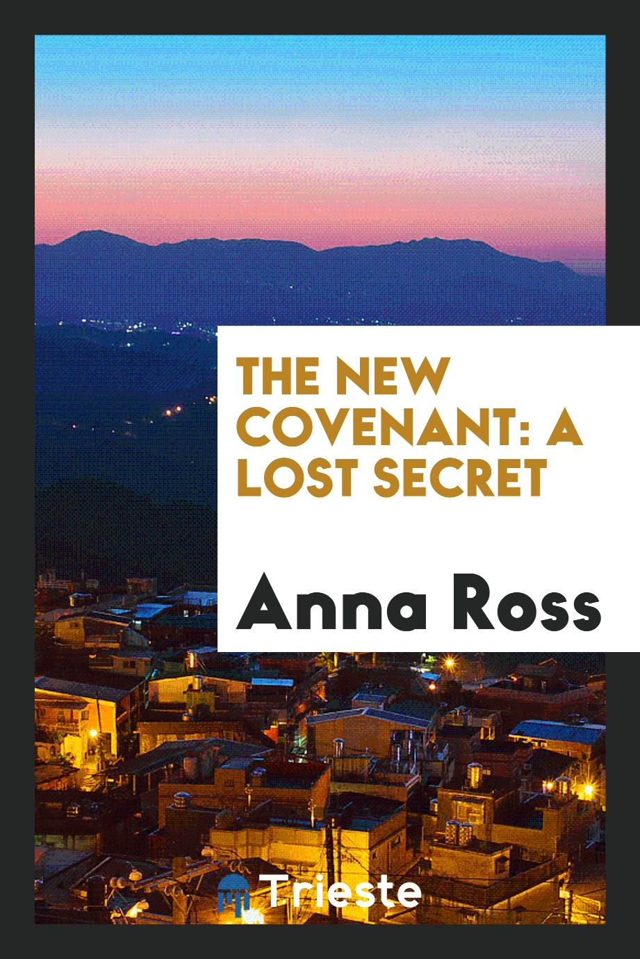 The new covenant: a lost secret
