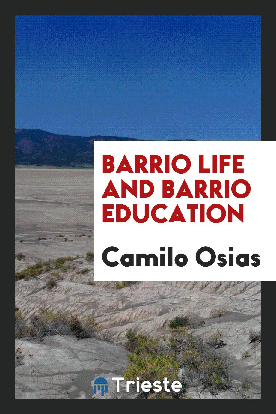 Barrio Life and Barrio Education