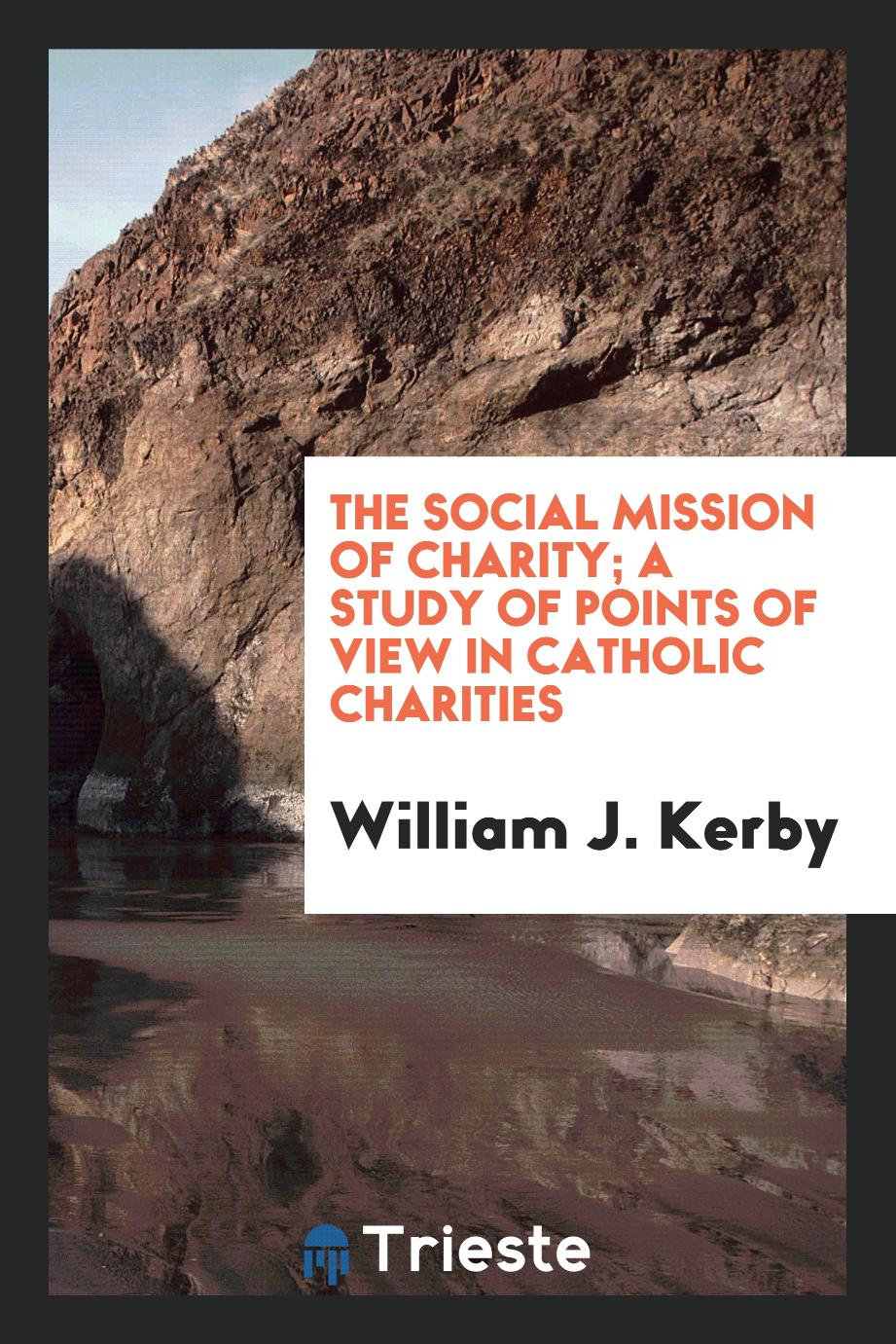 The Social Mission of Charity; A Study of Points of View in Catholic Charities