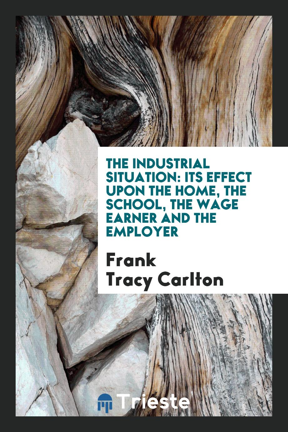 The Industrial Situation: Its Effect upon the Home, the School, the Wage Earner and the Employer