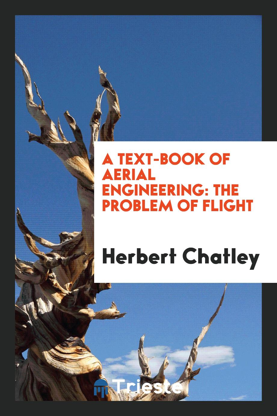 A Text-Book of Aerial Engineering: The Problem of Flight