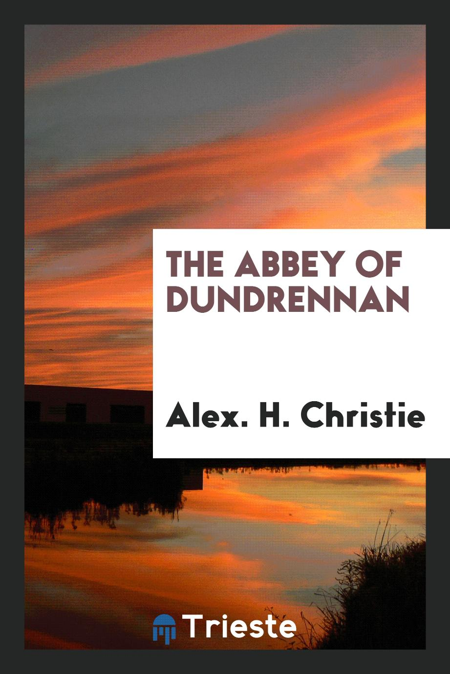 The abbey of Dundrennan