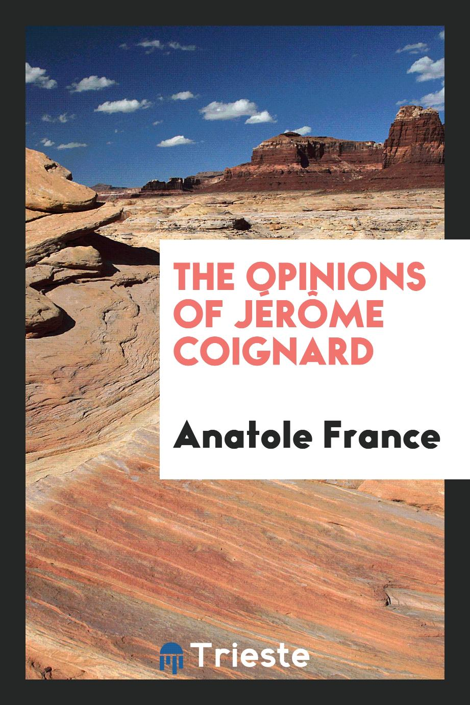 The opinions of Jérôme Coignard
