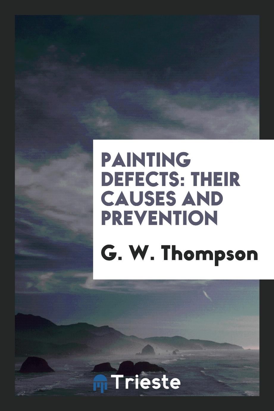 Painting Defects: Their Causes and Prevention