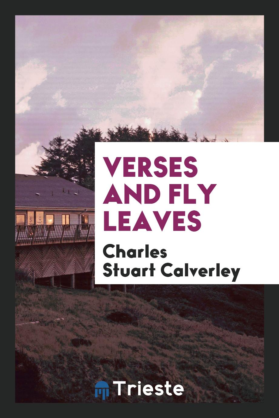 Verses and Fly leaves