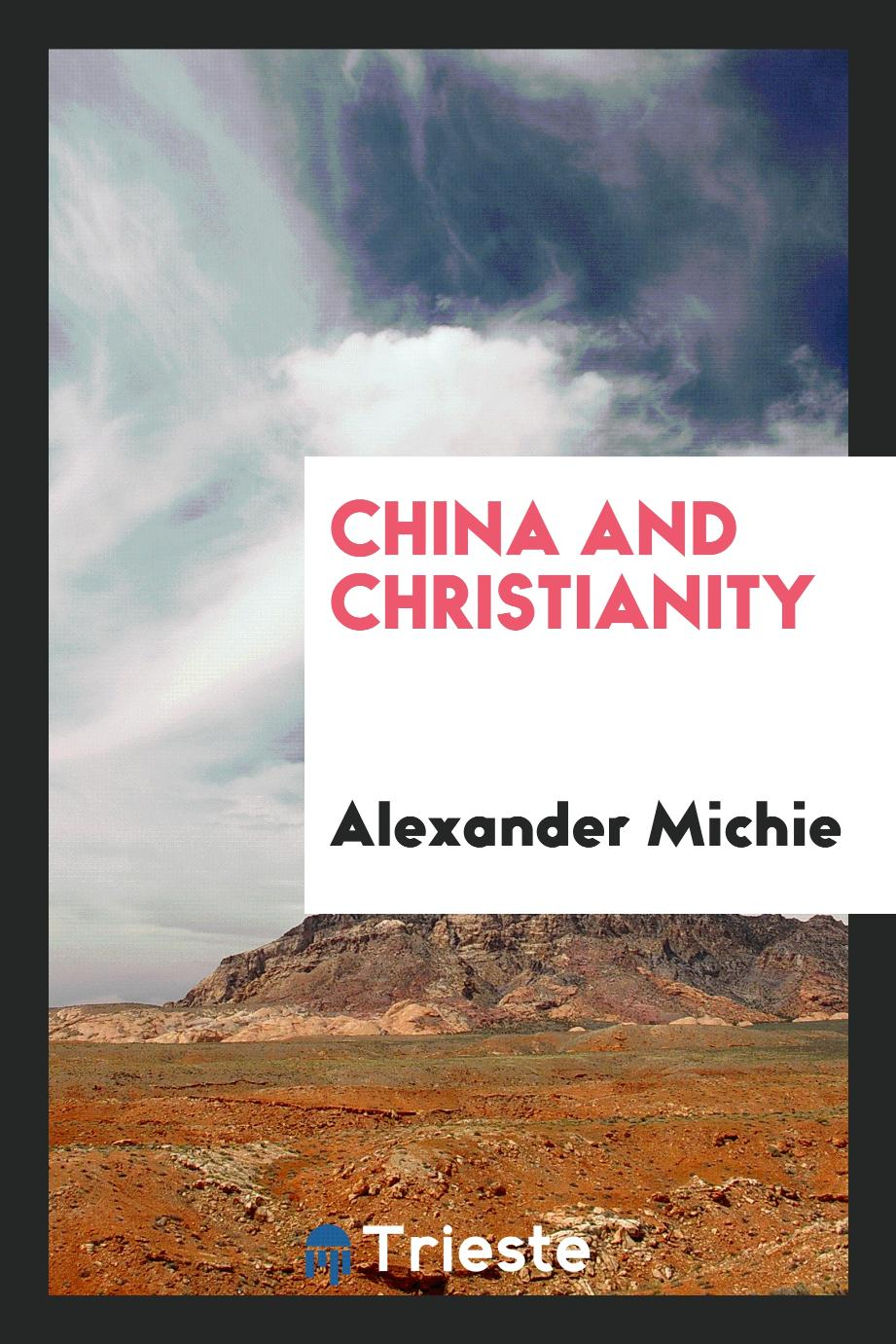 China and Christianity