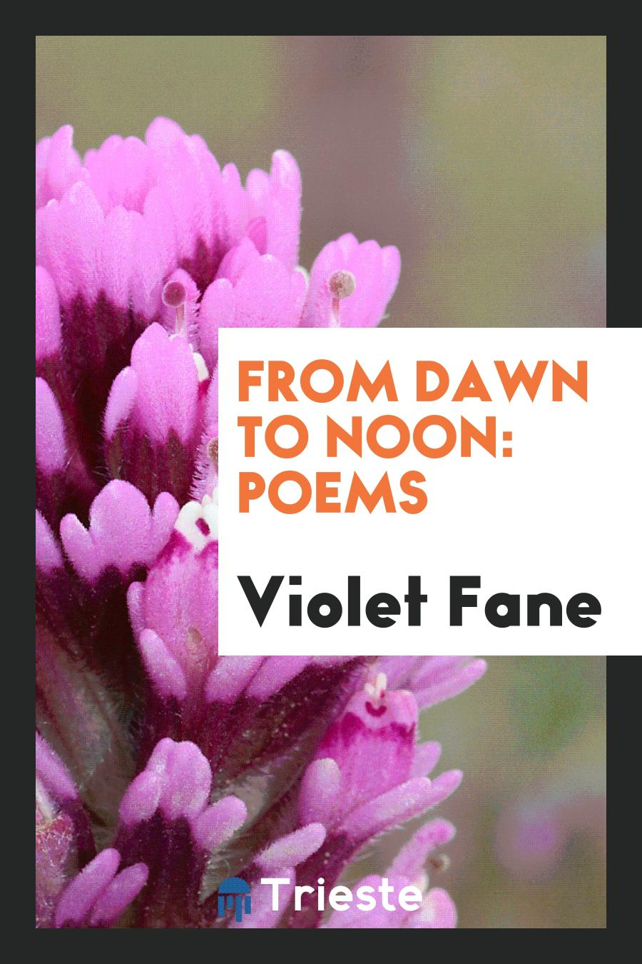 From Dawn to Noon: Poems