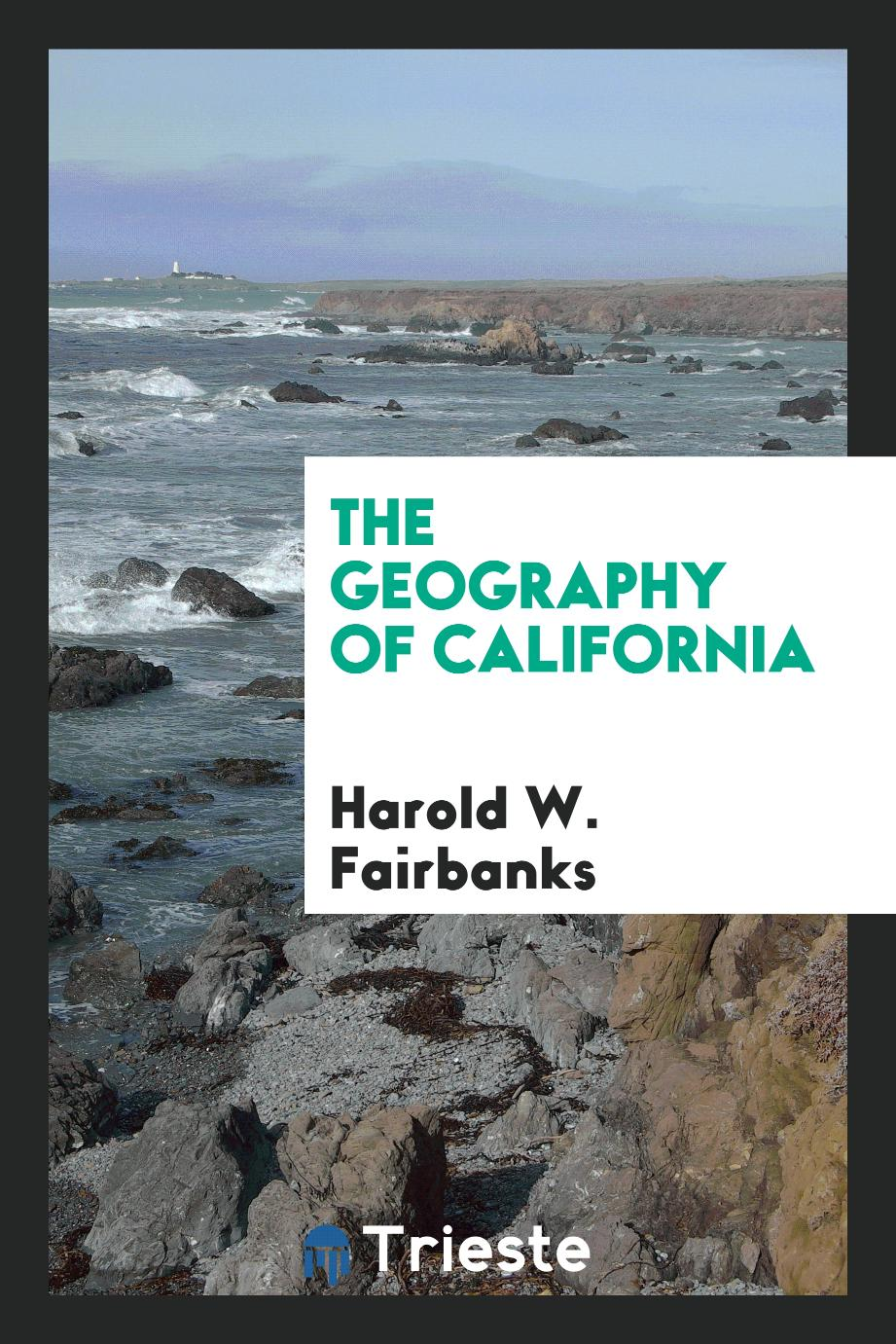 The geography of California
