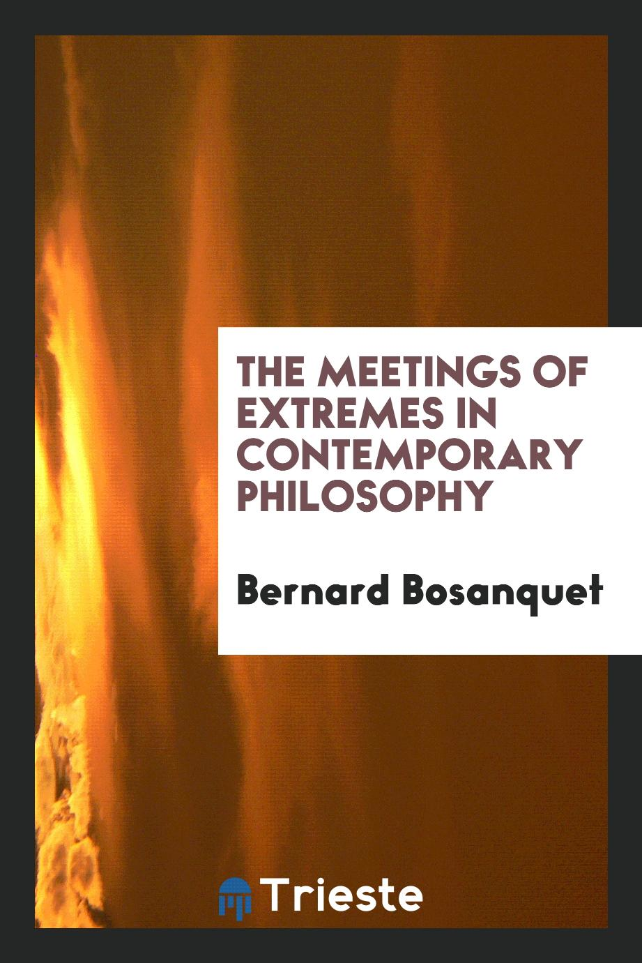 The meetings of extremes in contemporary philosophy