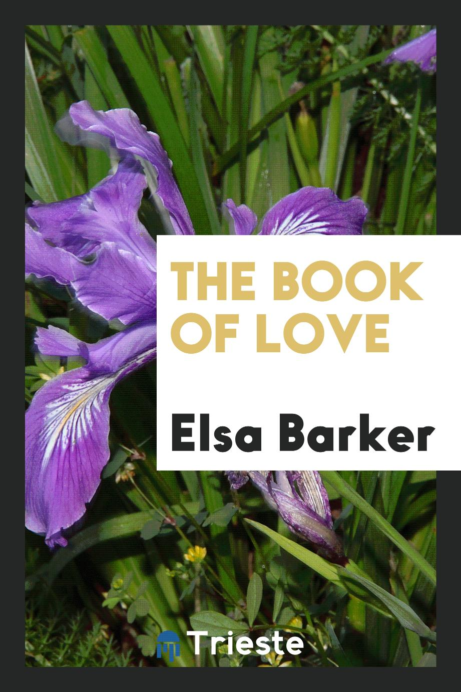 Elsa Barker - The book of love