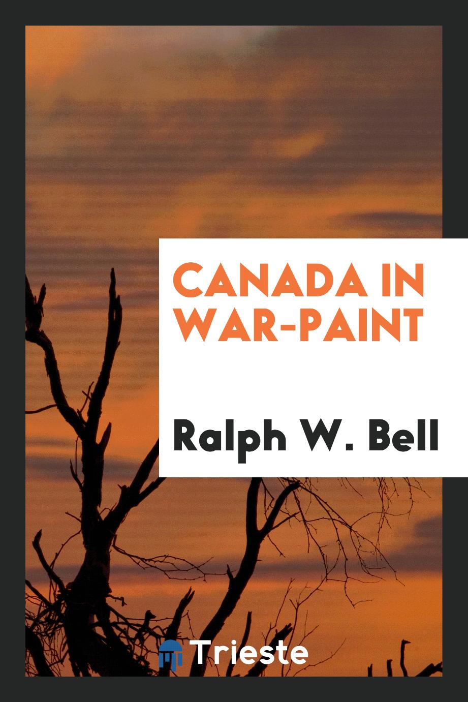 Canada in war-paint