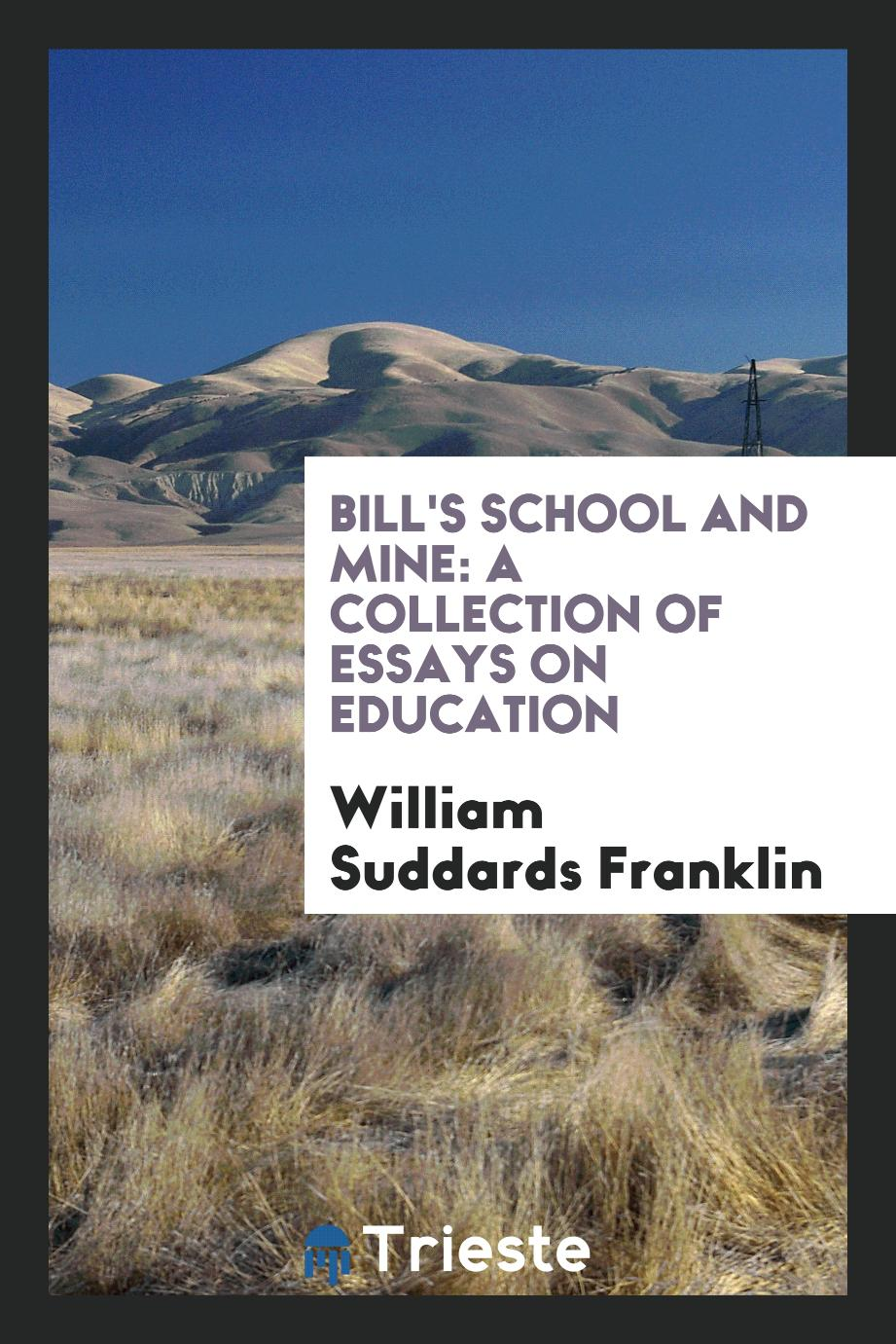 Bill's School and Mine: A Collection of Essays on Education
