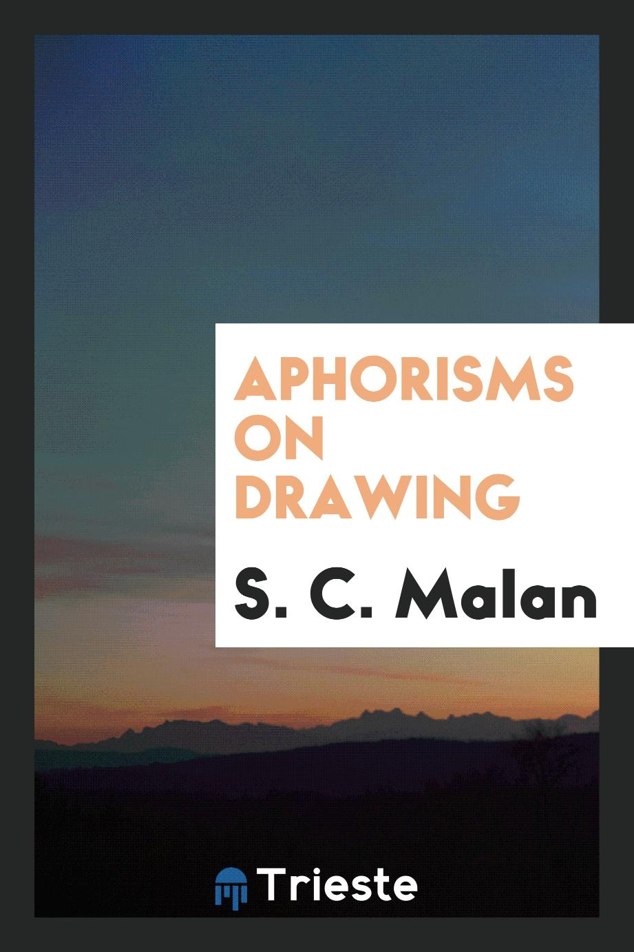 Aphorisms on Drawing