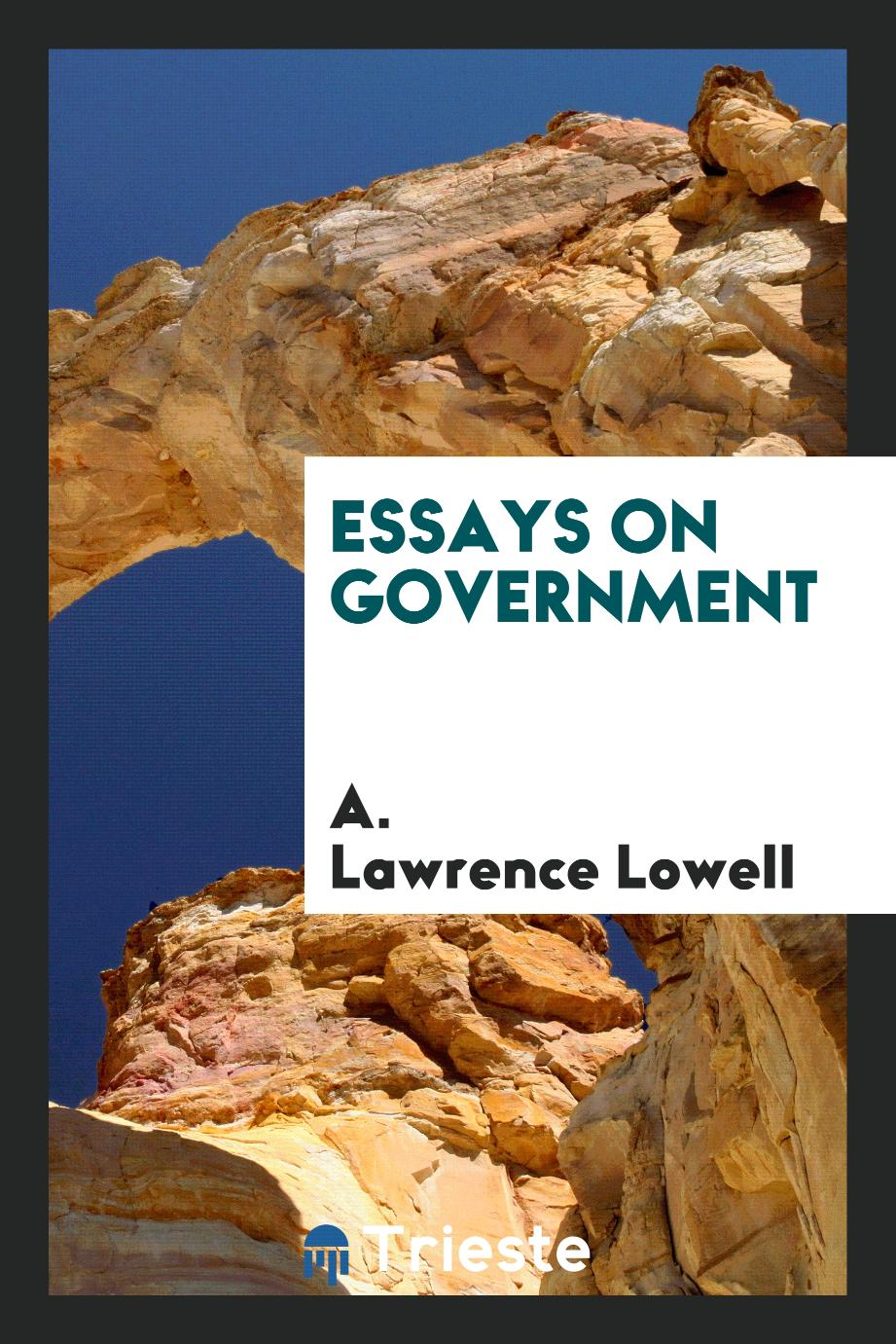 Essays on Government