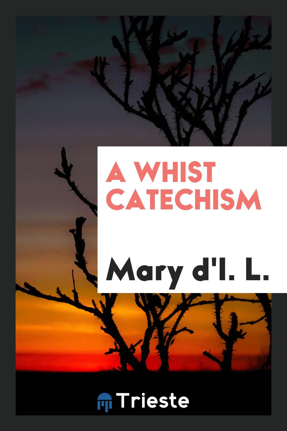 A Whist Catechism